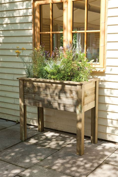 Herb Planter Stand by How To Make A Plant Stand Out Of Pallets Woodworking
