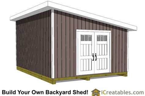 14x20 lean to shed plans easy to build large shed plans