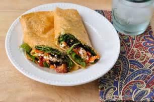 good thymes and good food greek veggie wraps
