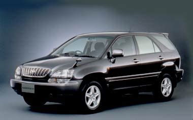 toyota harrier 2000 toyota harrier harrier at 2 4 2000 japanese vehicle