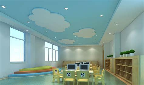 3d Furniture Layout by Kindergarten Computer Classroom Design 3d House Free 3d