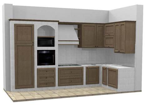 cucine da giardino in muratura base per cucine in muratura su misura with cucine da