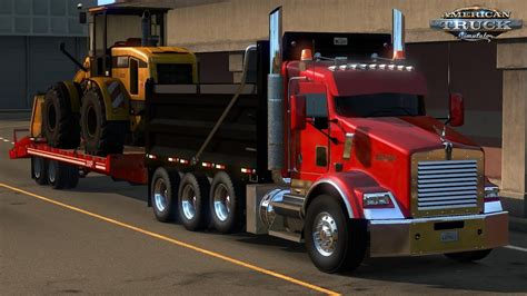 kenworth t800 truck kenworth t800 2016 edit v 2 0 for ats 187 american truck