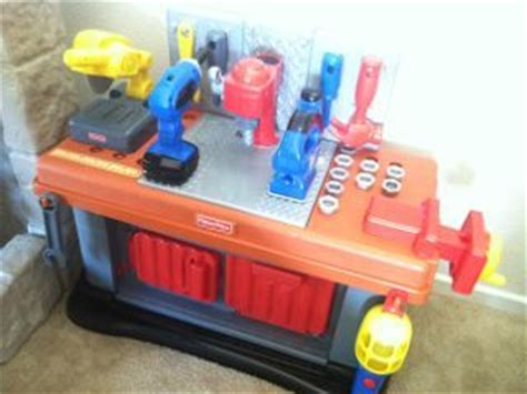 fisher price tool bench workshop amazon com fisher price grow with me workshop playset