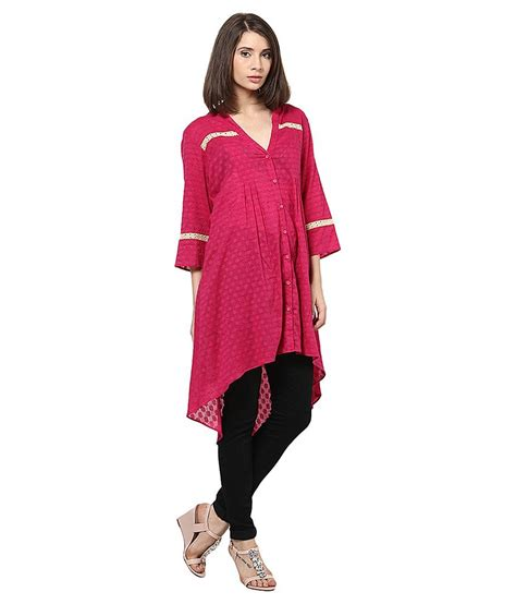 buy shakumbhari v neck tunic at best prices in india snapdeal