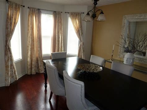 transitional dining room behr almond toast