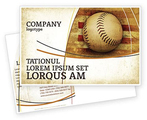 baseball card template indesign american baseball postcard template in microsoft word