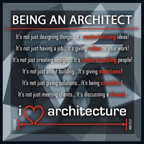 being an architect arch student com