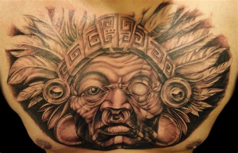 shaman tattoo designs aztec tattoos and designs page 44