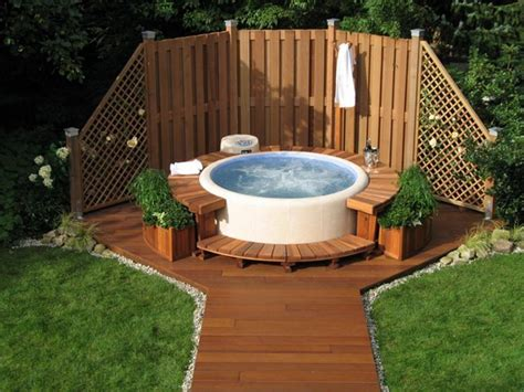 outdoor hot tub how to choose the outdoor jacuzzi theydesign net