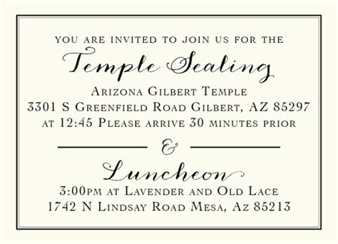 lds wedding temple invitation wording 136 best images about lds wedding invitations on utah o day and more photos