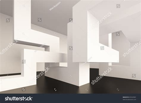 Abstract Interior Design by Abstract Interior Design Stock Illustration 85334581