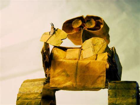 Wall E Origami - wall e