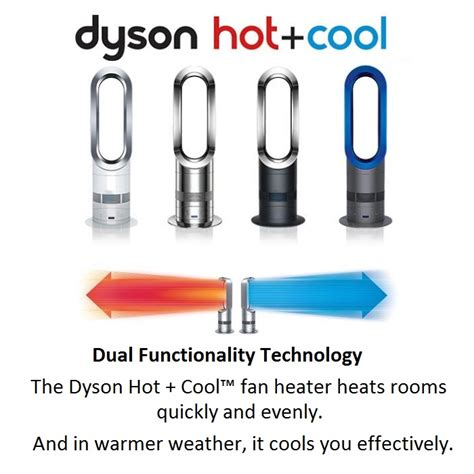 dyson fan air cooler dyson am05 cool air bladeless fan dual heater