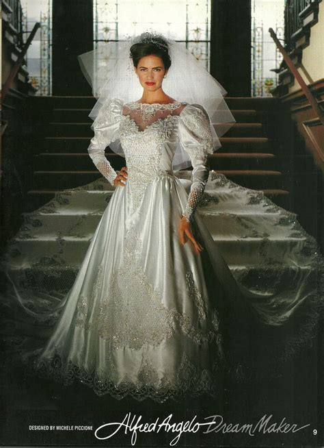 Wedding Dress Maker by Wedding Dresses 1990s Wedding Dresses 1990s Fancy