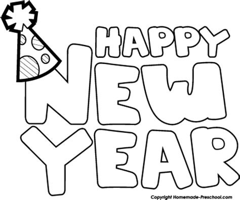 new year clipart black and white new years clip black and white including clipart