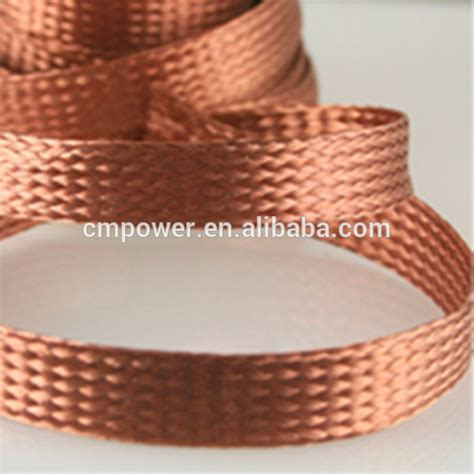 Braid Copper insulated tinned copper braided grounding wire
