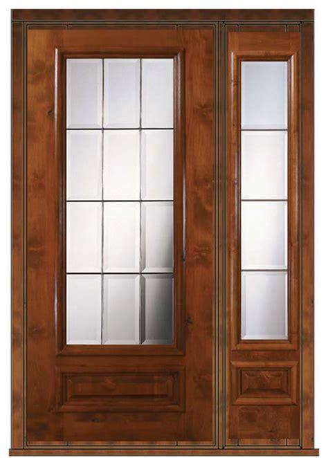 Prehung Patio Doors Prehung Patio Sidelight Door 80 Alder Patio 1 Panel 3 4 Lite Glass Modern Patio Doors