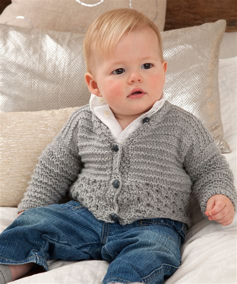 baby boy knitting patterns sweet and cuddly baby cardigan knitting pattern
