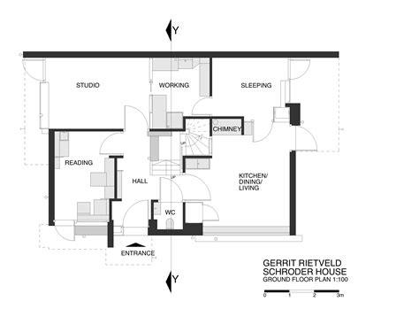 rietveld schroder house floor plans architecture photography schroder23 99723
