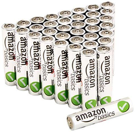 Amazonbasics Piles Aaa by Amazonbasics Pile Mini Stilo Alcaline Aaa Performance Confezione Da 36 Agrando Shop
