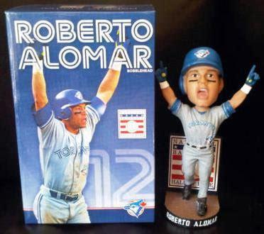 bobblehead of fame store roberto alomar toronto blue jays of fame bobblehead