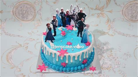 cara buat kue ulang tahun enak frozen elsa cake decorating simple for daughter cara