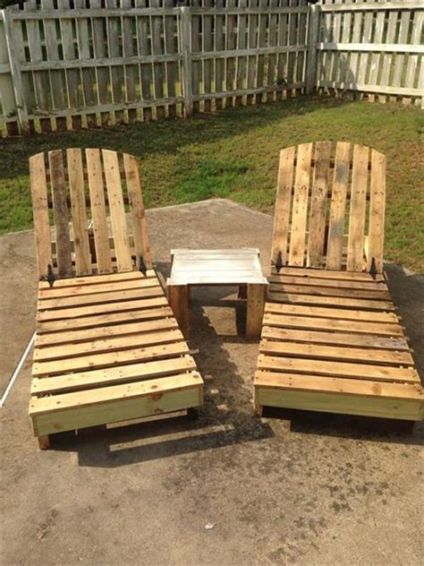 diy pallet deck chair  garden pallets designs