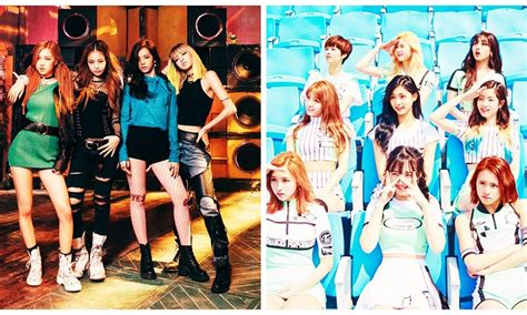 blackpink twice twice and blackpink s show off their amazing friendship in