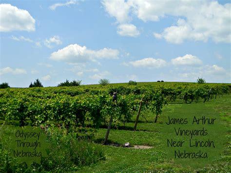 Growing Grapes in Nebraska?: James Arthur Vineyards & Winery ? Odyssey Through Nebraska