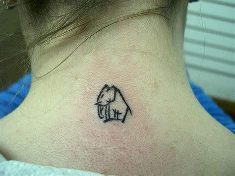 simple nape tattoo 140 simple tattoos that are simply genius