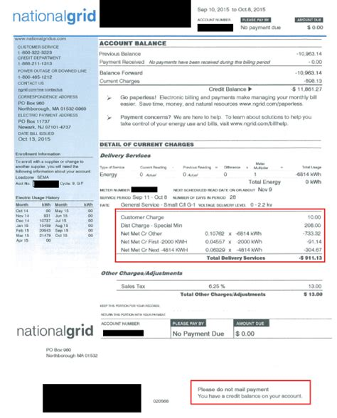 how to read your electric bill part ii solect
