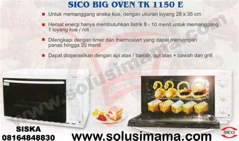 Oven Listrik Merk Sico solusi big oven sico