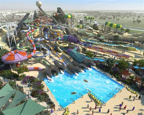 Yas Waterworld And World Abu Dhabi Yas Waterworld Mega Waterpark Inaugural On Jan
