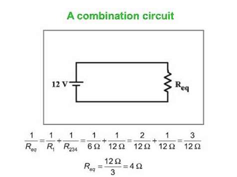 series and parallel combination of resistors pdf combination of series and parallel circuits
