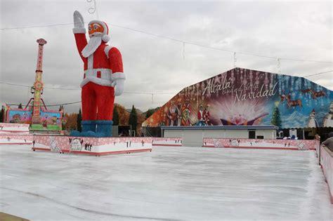 la pista de hielo as 237 es la pista de hielo de alcal 225 ciudad de la navidad dream alcal 225