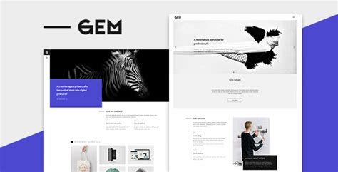 themeforest gem gems a multi purpose wordpress theme by fastwp themeforest