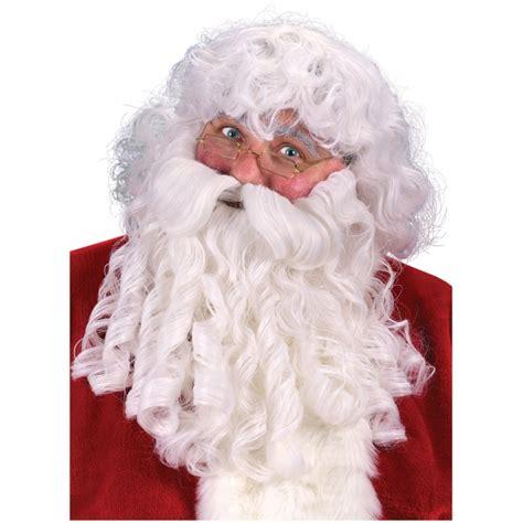 deluxe santa claus wig beard eyebrows deluxe santa