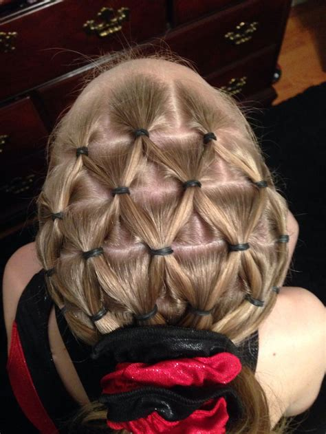hairstyles for a gymnastics competition 25 best ideas about pineapple hairstyle on pinterest