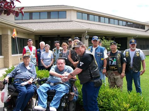 veterans mogov nixon speaks at cameron veterans home