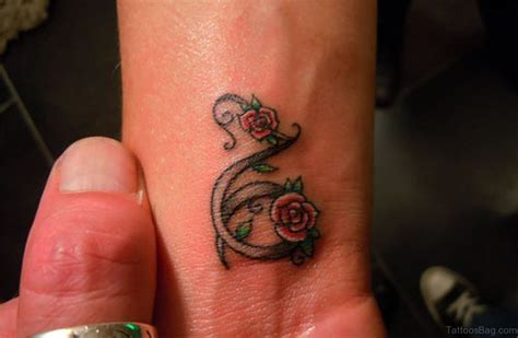 capricorn tattoos for wrist capricorn flower flower inspiration