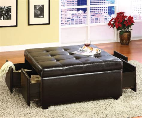 ottoman with drawers storage petula tufted storage ottoman with 4 drawers