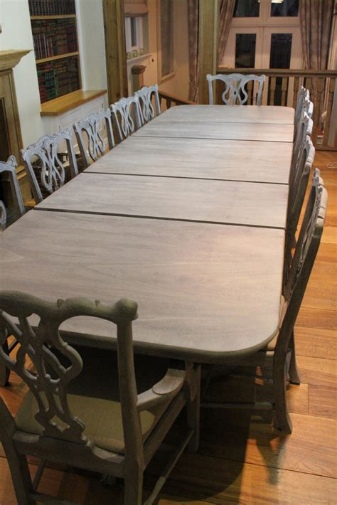 12 Chair Dining Table Vintage Dining Table And 12 Chairs Including 2 Carver Chairs Will And Hugh