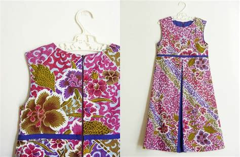 design baju batik untuk anak 19 model baju batik anak perempuan modern dan terbaru