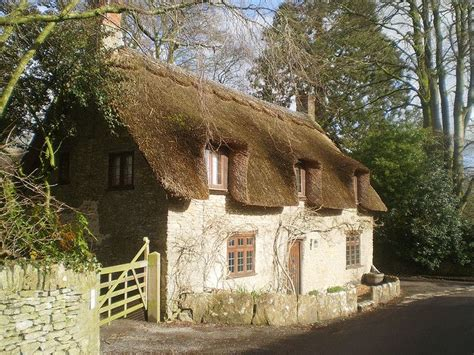 thatched roof cottage le monde