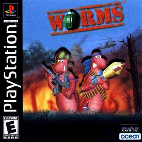 emuparadise game ps1 worms e iso