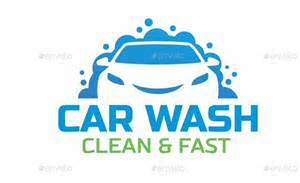 car wash logo by mazyo2x graphicriver