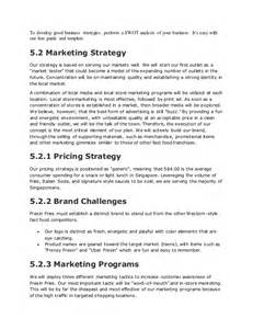 Food Delivery Business Plan Template by Fast Food Restaurant Business Plan
