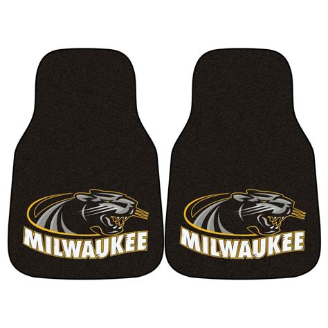fanmats ncaa of wisconsin milwaukee heavy duty