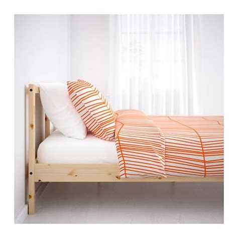 ikea pine bed fjellse bed frame pine leirsund standard double ikea
